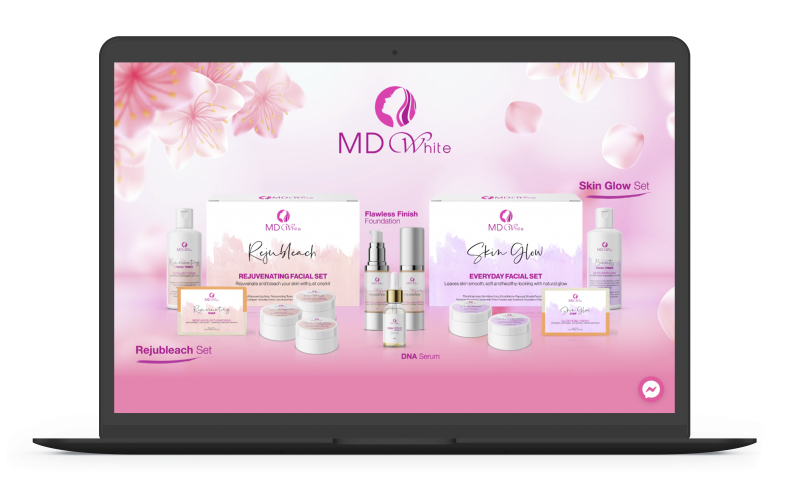 MD White Skin Care | Next Level Digital Marketing