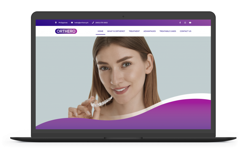 Orthero Clear Aligners | Next Level Digital Marketing